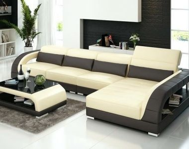 L shaped living room sofa