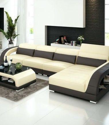 L shaped living room sofa