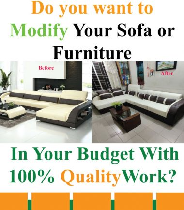 Ashraf Furniture Sofa Modification