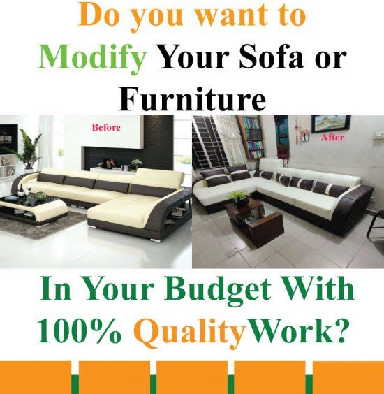Ashraf Furniture Sofa Modification
